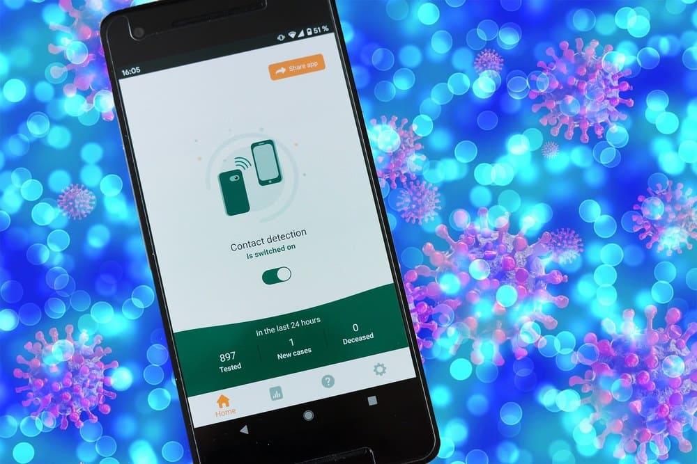 Aplicaciones móviles Covid